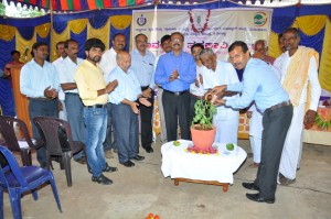 inauguration of organic vegetable mela