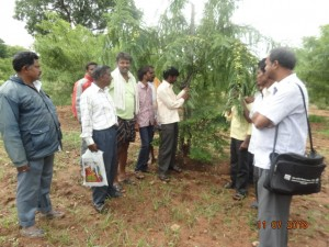 farmers' exposure visit